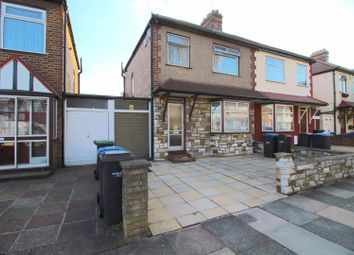 Thumbnail 3 bed semi-detached house for sale in Dover Road, Edmonton