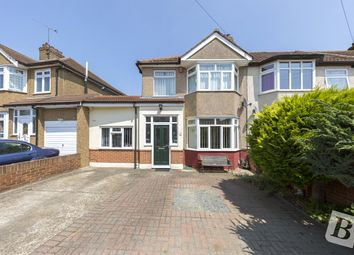 Thumbnail 3 bedroom end terrace house for sale in Hornford Way, Romford