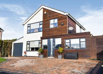 Thumbnail 3 bed detached house for sale in Otter Avenue, Saxilby, Lincoln, Lincolnshire