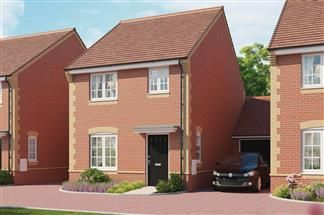 Thumbnail 3 bedroom link-detached house for sale in The Elm, Cloverfields, Didcot, Oxfordshire