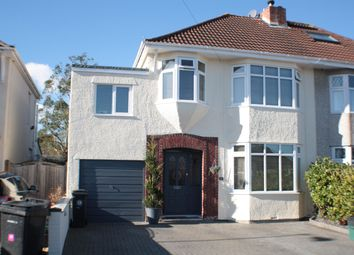 Thumbnail 4 bed semi-detached house for sale in Highridge Green, Uplands, Bristol