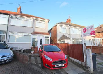 Thumbnail 3 bed semi-detached house for sale in Regent Avenue, Broadgreen, Liverpool