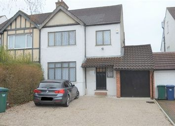 Thumbnail 3 bed semi-detached house to rent in Delamere Gardens, London