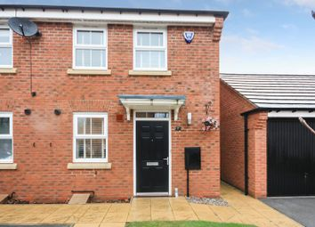Thumbnail 2 bed terraced house for sale in 7 Fossview Close, Strensall, York