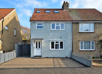 Thumbnail 4 bed semi-detached house to rent in Northfields, Chobham