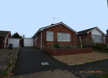 Thumbnail 2 bedroom detached bungalow to rent in Highland Drive, Worlingham, Beccles