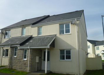 Thumbnail 3 bed semi-detached house to rent in St. Michaels Way, Roche, St. Austell