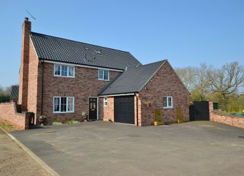 Thumbnail 5 bed detached house for sale in Fieldings Drive, Yaxham, Dereham, Norfolk.