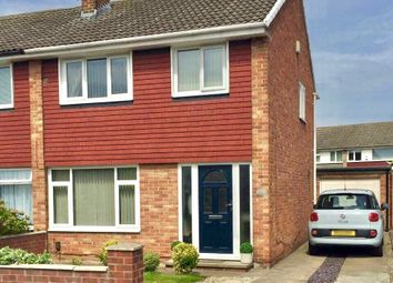 Thumbnail 3 bed semi-detached house for sale in Cleadon Avenue, Billingham