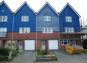 Thumbnail 3 bed terraced house to rent in West Quay, Newhaven