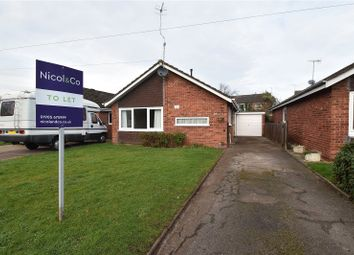 Thumbnail 3 bed bungalow to rent in Regina Close, Worcester, Worcestershire
