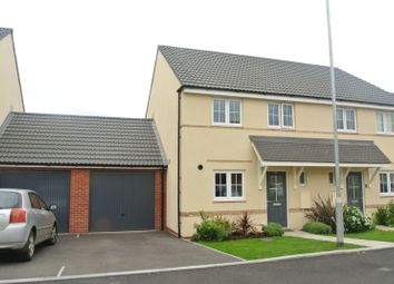 Thumbnail 3 bedroom semi-detached house for sale in Oswalds Close, Longford, Gloucester
