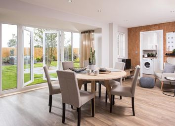 "Thumbnail 4 bed detached house for sale in ""Millford"" at Huntingdon Road, Thrapston, Kettering"