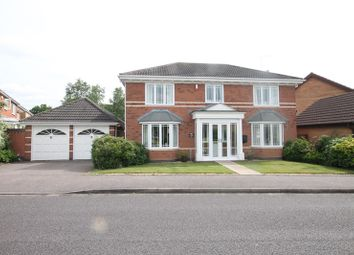 Thumbnail 4 bed detached house for sale in Rothwell Drive, Shirley, Solihull