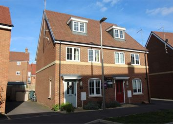 Thumbnail 3 bed semi-detached house for sale in Guyana Lane, Newton Leys, Milton Keynes, Buckinghamshire