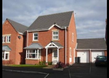 Thumbnail 4 bed detached house to rent in Hollands Way, Kegworth, Derby