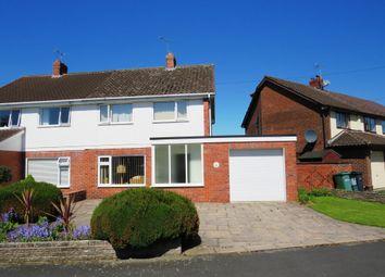 Thumbnail 3 bed semi-detached house for sale in Sandringham Avenue, Vicars Cross, Chester