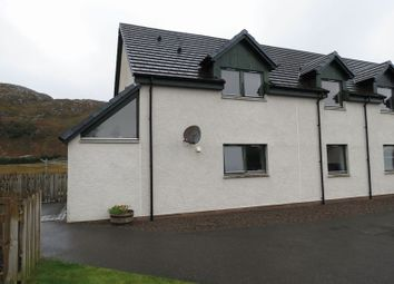 Thumbnail 2 bed flat for sale in Sydneys Way, Poolewe, Achnasheen