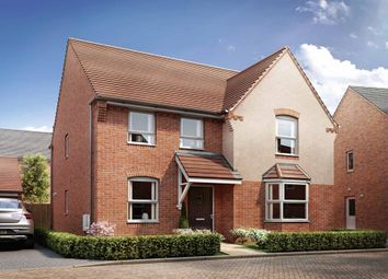 "Thumbnail 4 bed detached house for sale in ""Holden"" at Broughton Crossing, Broughton, Aylesbury"