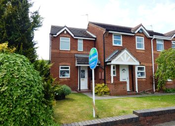 Thumbnail 2 bed end terrace house to rent in Belt Road, Hednesford