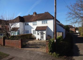 Thumbnail 3 bed semi-detached house for sale in Little Green Lane, Wrecclesham, Farnham