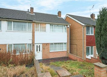 Thumbnail 3 bed town house for sale in Third Avenue, Gedling, Nottingham