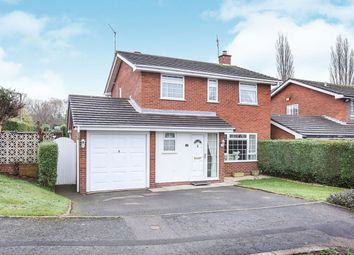 Thumbnail 4 bed detached house for sale in Dunster Grove, Perton, Wolverhampton