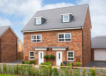 """Thumbnail 4 bed end terrace house for sale in """"Kingsville"""" at The Long Shoot, Nuneaton"""