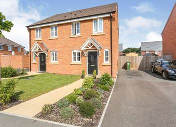 Thumbnail Semi-detached house for sale in Damson Way, Bidford On Avon, Alcester