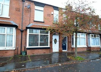 Thumbnail 3 bedroom terraced house for sale in Hawarden Avenue, Whalley Range, Manchester