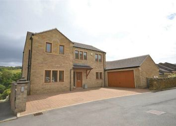 Thumbnail 4 bed detached house for sale in Moss Edge View, Holmbridge, Holmfirth