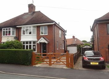 Thumbnail 3 bed semi-detached house for sale in Hawthornden Avenue, Uttoxeter