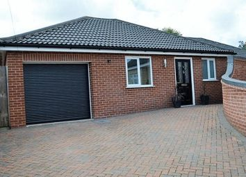 Thumbnail 3 bedroom detached bungalow for sale in Hill Road, New Costessey, Norwich