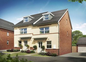 "Thumbnail 4 bedroom semi-detached house for sale in ""Kingsville"" at Briggington, Leighton Buzzard"