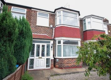 Thumbnail 3 bed terraced house for sale in Cottesmore Road, Hessle