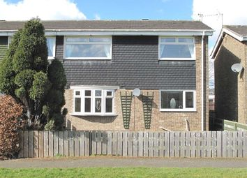 Thumbnail 3 bedroom semi-detached house to rent in Shanklin Place, Beaconhill Green, Cramlington