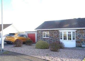 Thumbnail 2 bedroom semi-detached bungalow for sale in Ty Gwyn Drive, Brackla, Bridgend