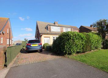 Thumbnail 3 bed semi-detached bungalow for sale in Cissplatt Lane, Keelby, Grimsby