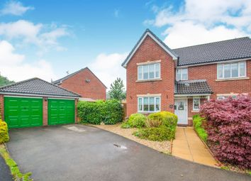 Thumbnail 4 bed detached house for sale in Camellia Avenue, Rogerstone, Newport