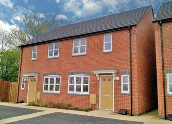 Thumbnail 2 bed semi-detached house for sale in Ladkin Close, Sileby, Loughborough, Leicestershire