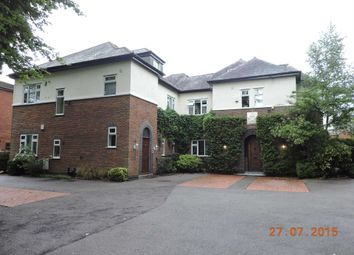 Thumbnail 3 bedroom flat to rent in Lancaster Road, Didsbury, Manchester