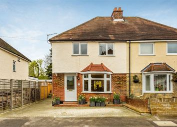 Thumbnail 3 bed semi-detached house for sale in Franklyn Road, Walton-On-Thames, Surrey