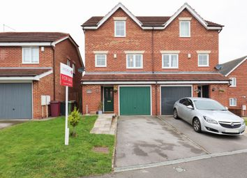 Thumbnail 4 bed semi-detached house for sale in Parkside, Renishaw, Sheffield