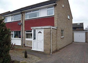 Thumbnail 3 bed semi-detached house to rent in Angrove Close, Levendale, Yarm, Cleveland