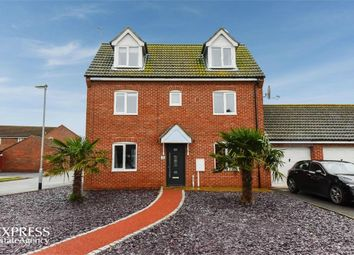 Thumbnail 4 bed link-detached house for sale in Monarchs Road, Sutterton, Boston, Lincolnshire