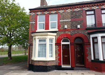 Thumbnail 3 bedroom terraced house to rent in Woodbine Street, Kirkdale, Liverpool