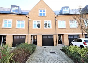 Thumbnail 4 bed town house for sale in Queenswood Crescent, Englefield Green, Egham, Surrey