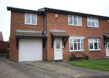 Thumbnail 4 bedroom semi-detached house for sale in Fulmar Walk, Whitburn, Sunderland