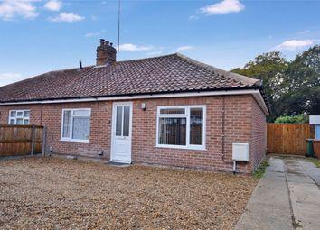 Thumbnail 3 bedroom semi-detached bungalow for sale in Hercules Road, Hellesdon, Norwich