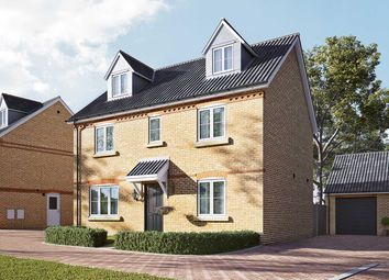 "Thumbnail 5 bed detached house for sale in ""The Lutyens"" at Newmarket Road, Royston"